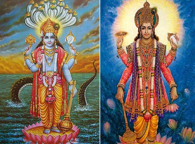 Why to Lord Vishnu Narayana 'is called it