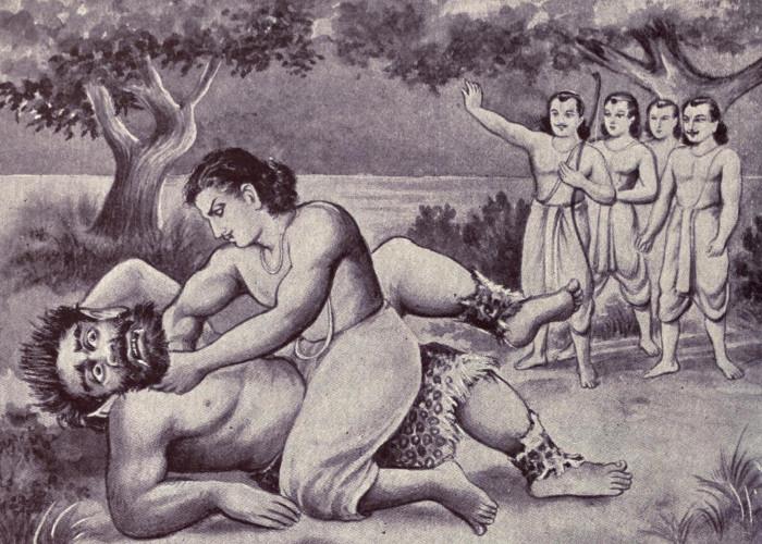 18 days was a war between Bhima, Jarasandha, the land of pilgrimage