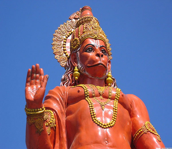 Miracle started crying in the temple of Hanuman idol