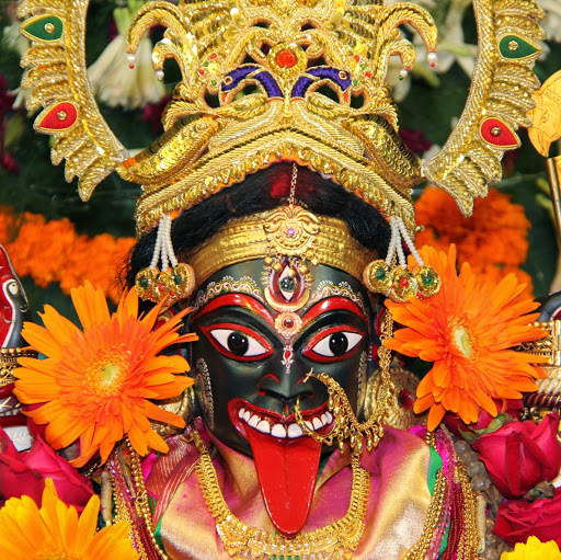 Miracle from his devotees and angered the mother, twisting his face