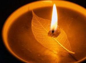 The miraculous temple water burns lamp