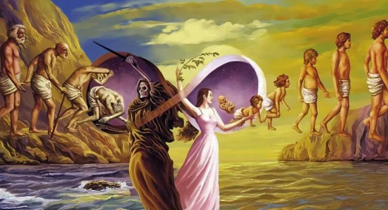 2/3rd of world population believe in reincarnation!
