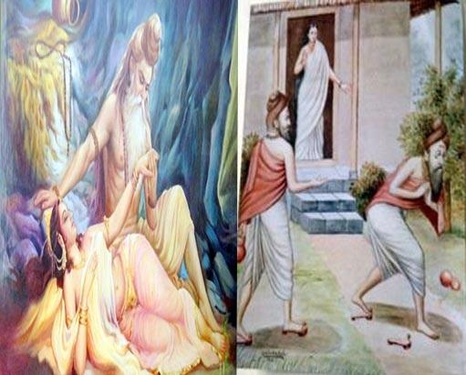 Know why indra doing shameful karma?