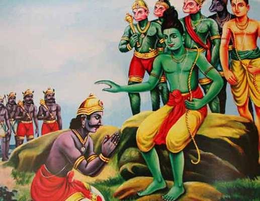 Why lord rama accepted vibhishana