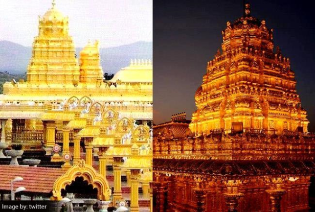 Laxmi golden temple of south & its facts