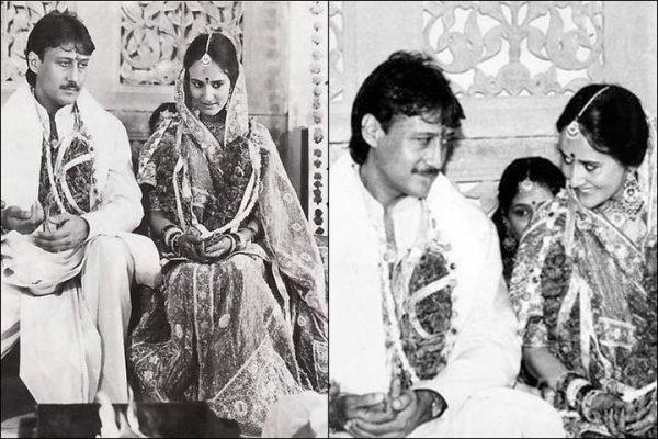 Jackie shroff & ayesha love story of marriage