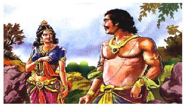 Know full story of hidimba's revenge of rakshasa.
