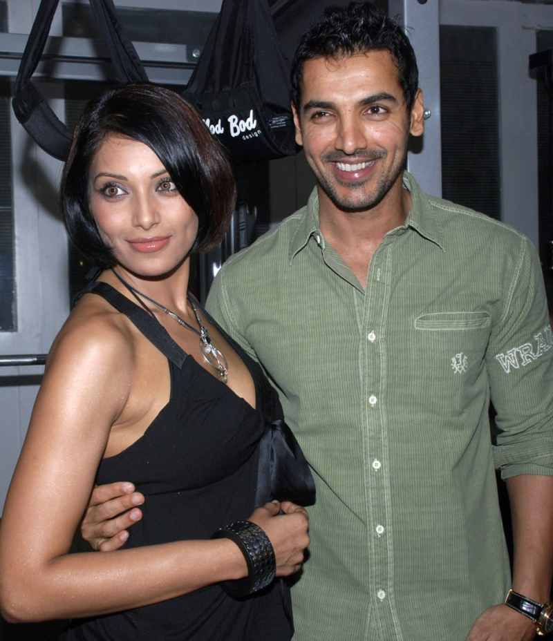 Bipasha spotted with ex john abrahim...