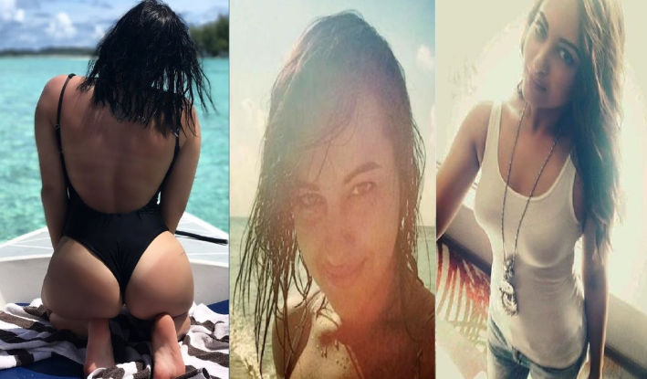 sonakshi sinha latest hot picks from vacations