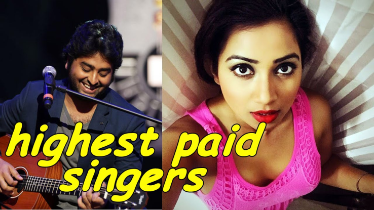 List of Top paid singer of bollywood.