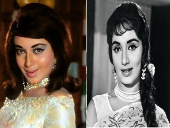 know relation of babita & sadhana actresses