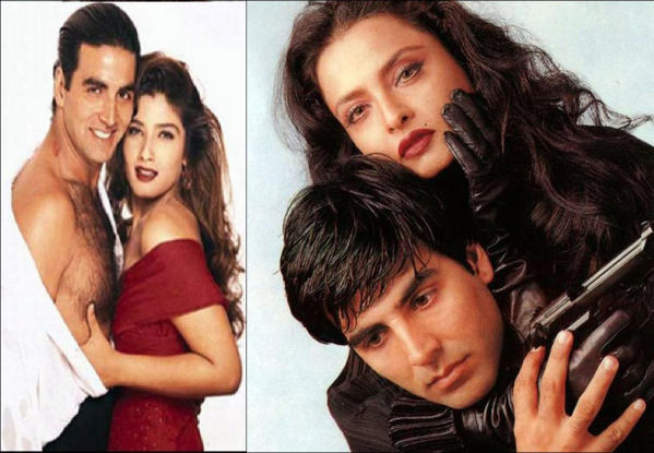 Know secret of rumored affair of akshay rekha