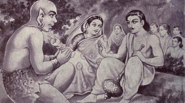 Was hidimba raped by bhima?
