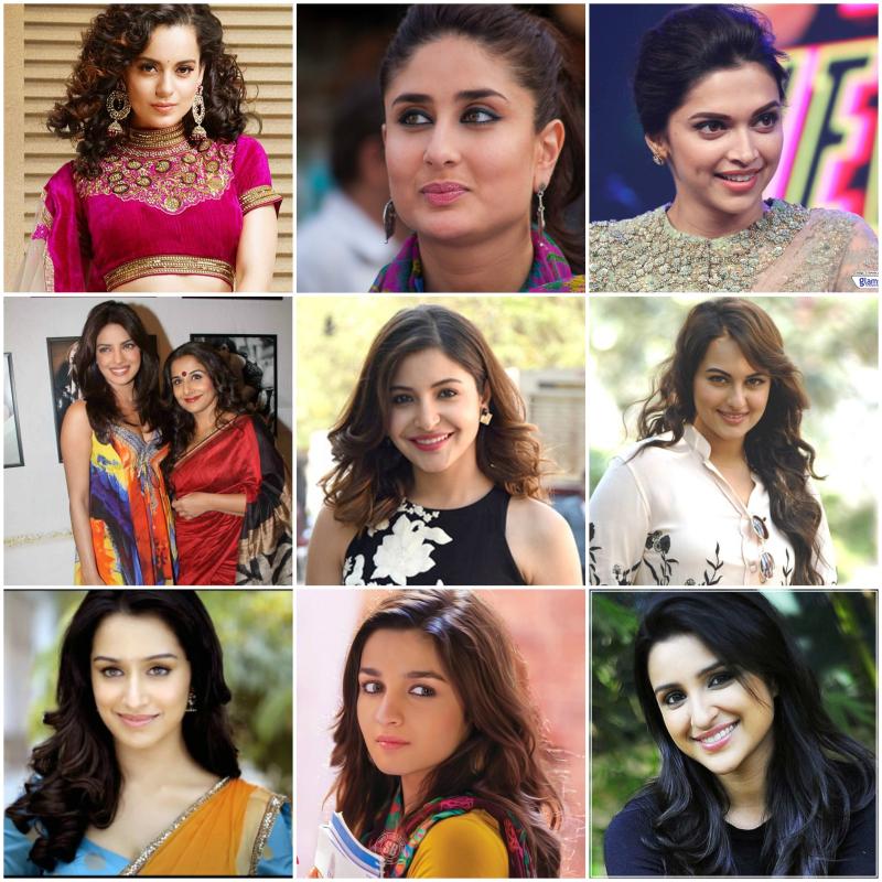 Bollywood actress success rate..