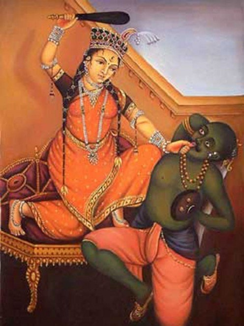 Cruel punishment of rape in india was in rule according to myth!