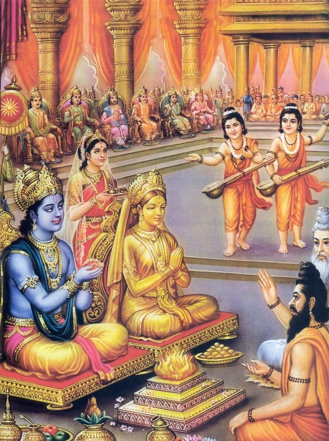know what statue of golden sita ask rama to do?