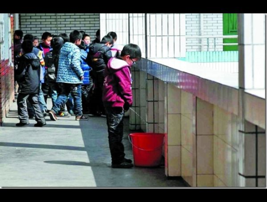 Rare tradition of china collection urine of virgins!