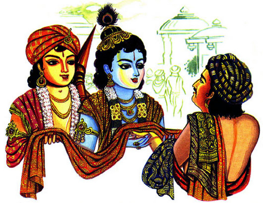 Lord krishna called kansa in yajna