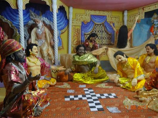 Amazing details about mahabharat dyutkrida