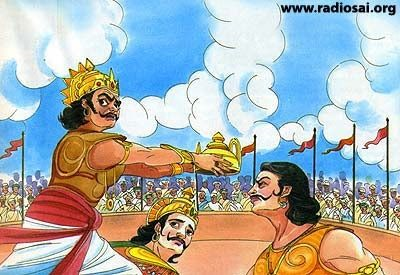 Whay karna deny of fighting from kaurva's end?