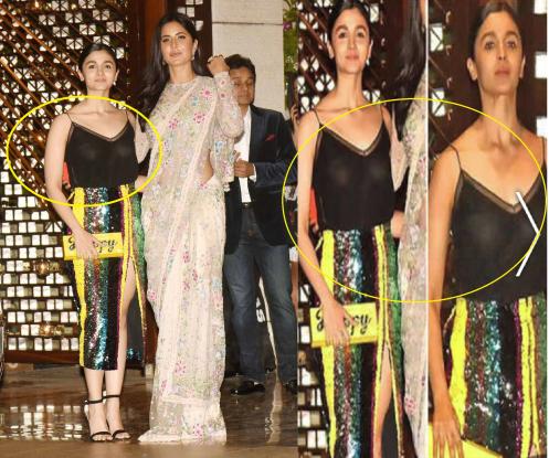 Alia bhatt dress controversy again...