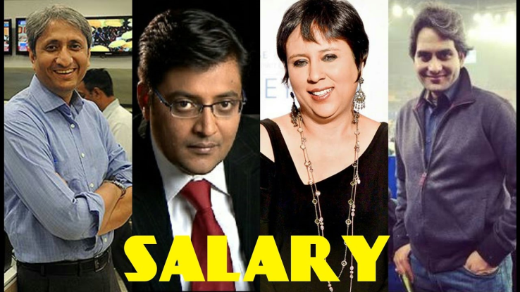 Highest paid hindi news anchor and editors of india!