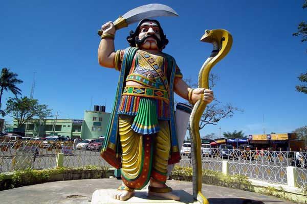 Story of mahishasur demon berth