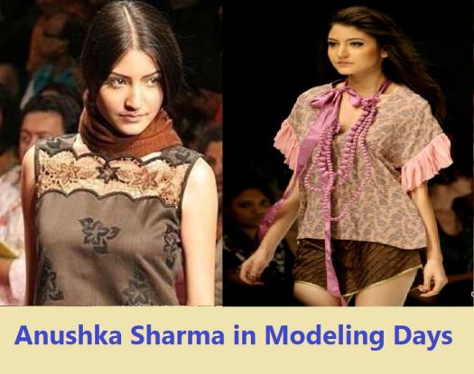 Anushka sharma modeling days pikcs