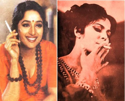 Bollywood actress who smoke but not in public