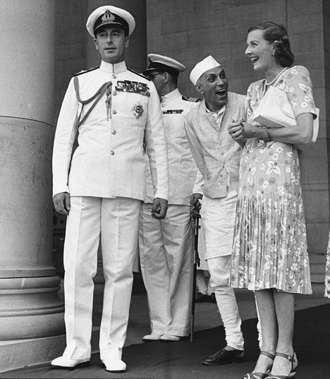 Edvina and nehru love each other say mountbatten's daughter!