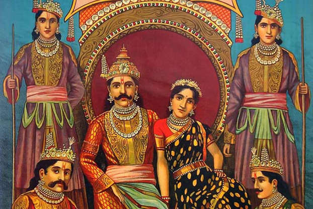 Amazing story of draupadi cheer haran!
