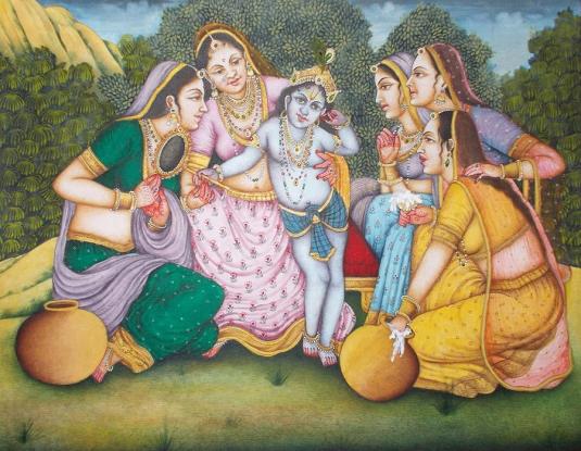 Lord krishna & gopika's love story