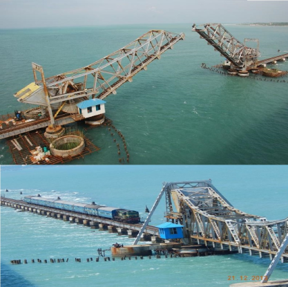 Know some facts about pamban bridge
