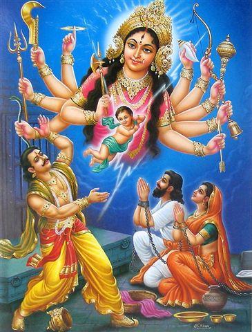 Lord durwasa married to ekavinsha