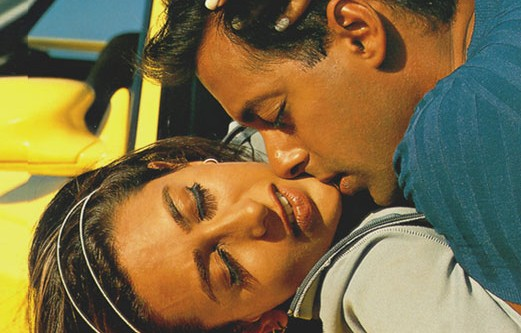 Bollywood stars first kissing scene