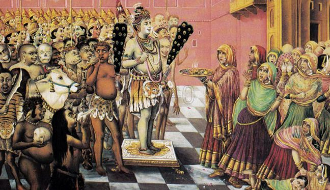 Lord shiva marriage amazing funny stories
