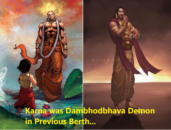 Full story of Karna's previous berth!