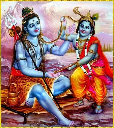 Lord krishna meet god vishnu in vaikuntha