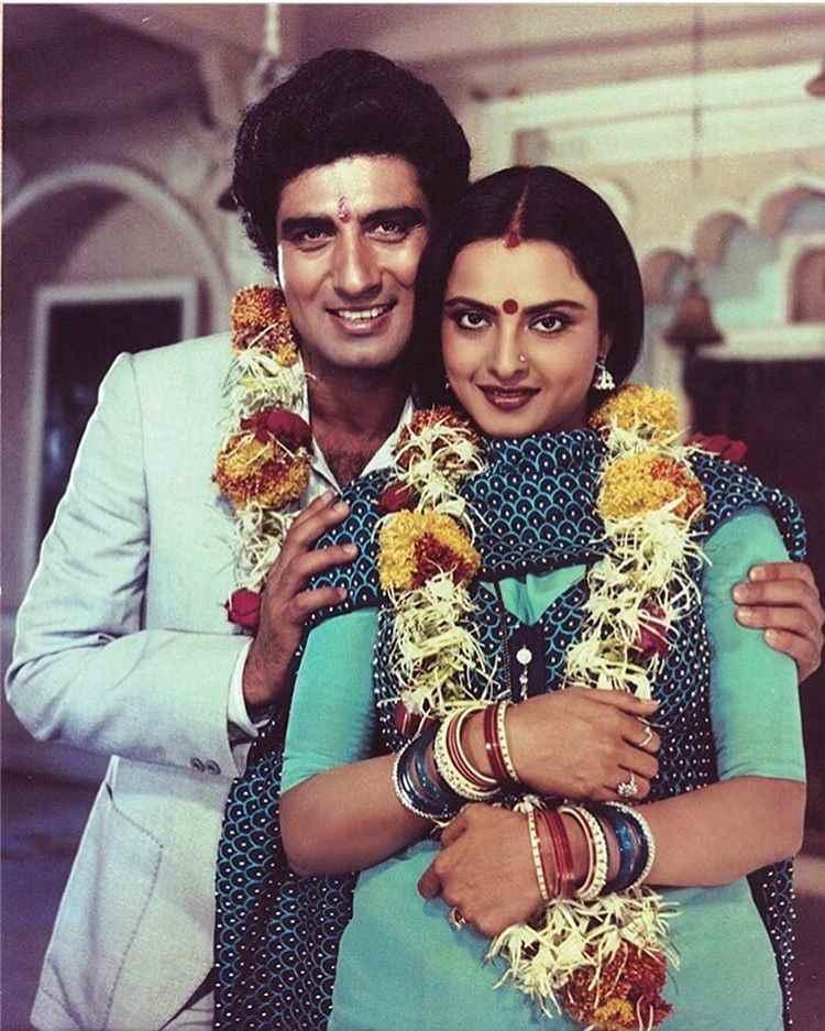 Raj babbar & rekha's so called affair