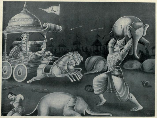 karna was an pure villain in mahabharata