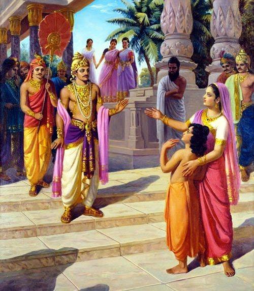 Full truth of love story of bharat shakuntla!
