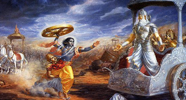 Bhishma decided not to kill pandava in war