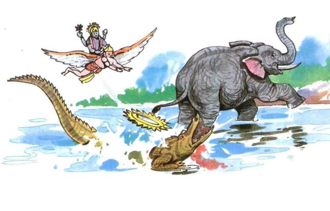Gaj-Grah tale of vishnu, know there previous berth story
