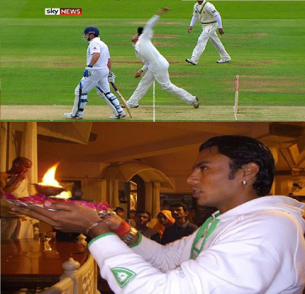 Where is Danish kaneria now a days?
