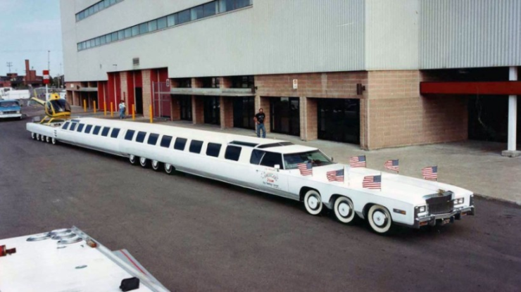longest limozin car of the world
