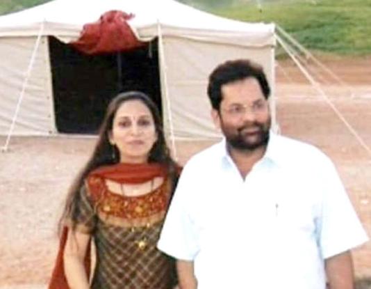 Mukhtar abbas nakvi's love story