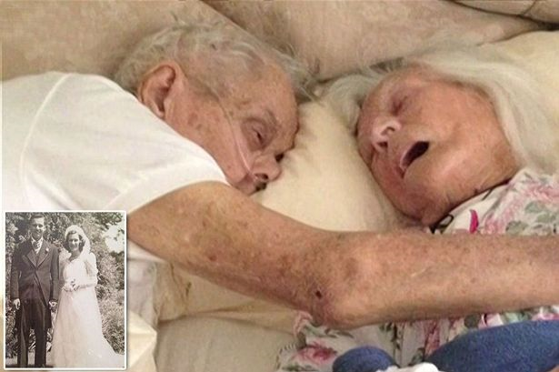 Amazing co incident on 75th anniversary of couple