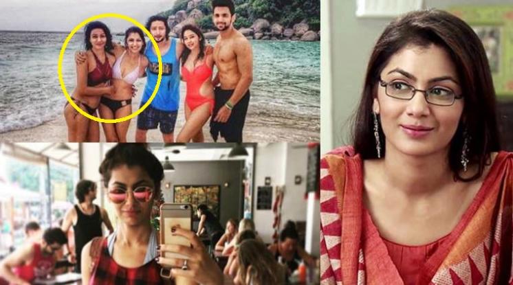 Sriti Jha super hot avtara on 1000's episode of kumkum bhagya
