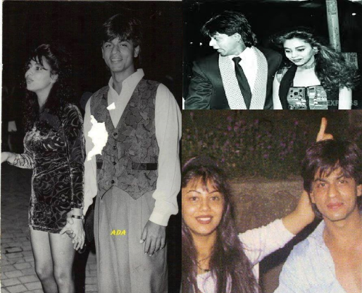 Unseen picks of shahrukh gauri & there bonding