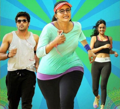 Anushka shetty top change over for zero size